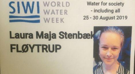 SIWI World Water Week, Stockholm, August 2019